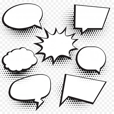 speech-bubbles-with-halftone-dots_1017-8
