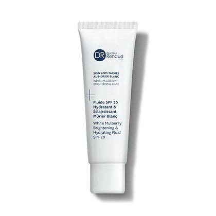 Fluide Hydratant Éclaircissant SPF20 Mûrier Blanc