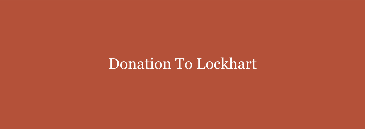 Donations To Lockhart