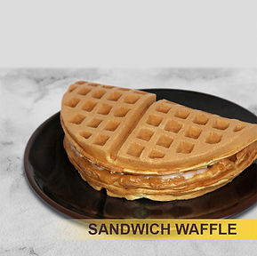 Whisk Eight Sandwich Waffle