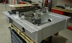 Machine main frame