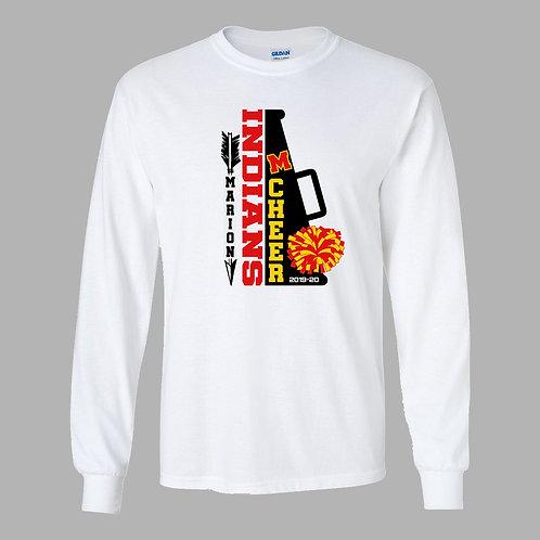Marion Cheer Gildan Lg Slv T-Shirt