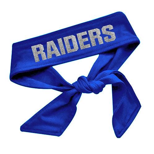 Raiders Tie Back Headband