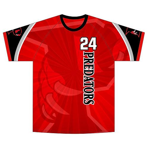Predators Red Jersey