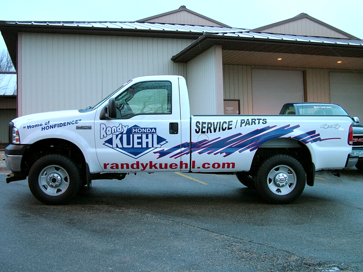 Randy Kuehl Truck Graphics