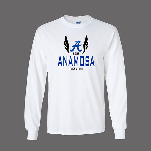 Anamosa Boys Track Gildan Lg Slv T-Shirt
