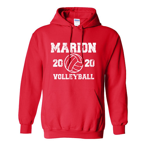 Marion Volleyball Hoodie