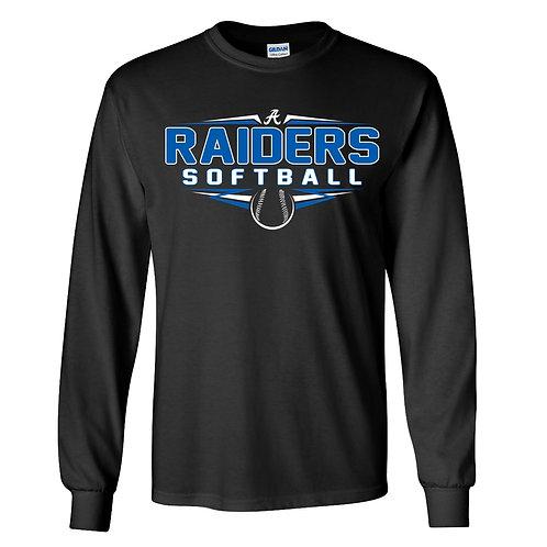 Raider Softball Lg Slv T-Shirt