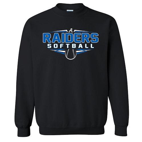 Raider Softball Crew Sweatshirt