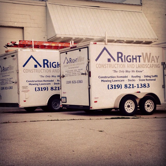 Rightway Construction Trailer