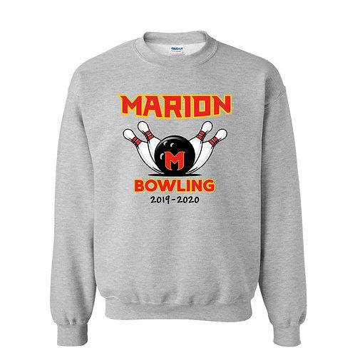 Marion Bowling Gildan Crew SWS