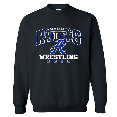 Raider Wrestling Crew Sweatshirt