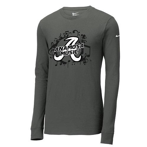 Anamosa Music Nike Dri-Fit Lg Slv T-Shirt