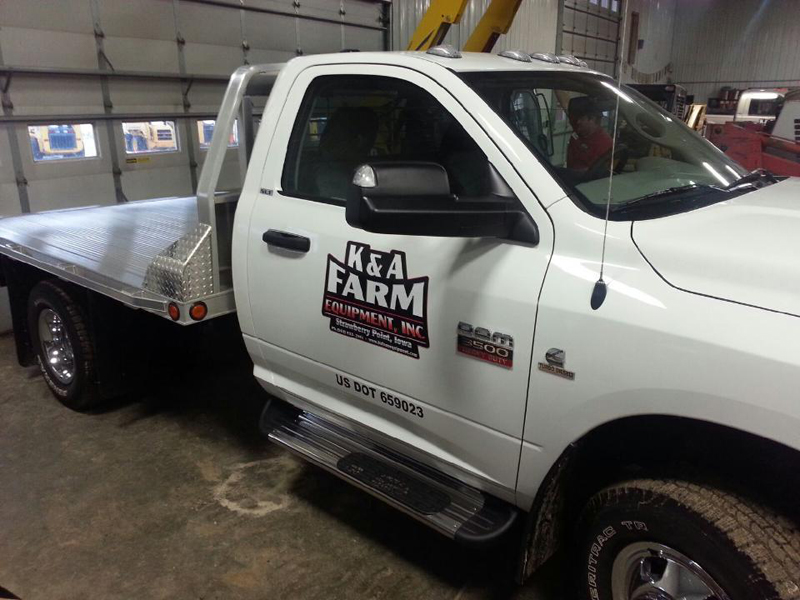 K&A Farm Truck Graphics
