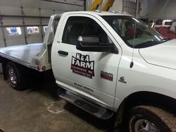 K&A Farm Truck Graphics