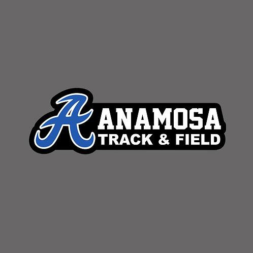 Anamosa Girls Track Decal