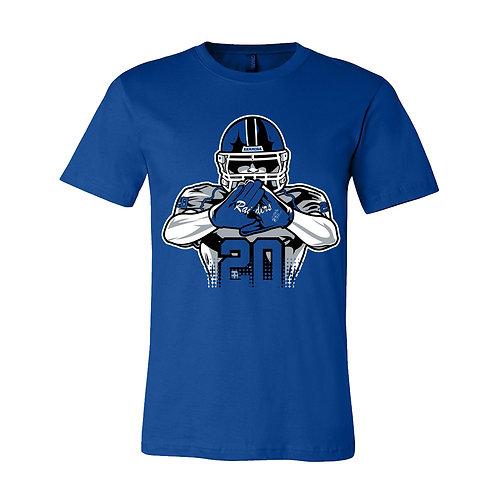 Raider Football Bella+Canvas T-Shirt