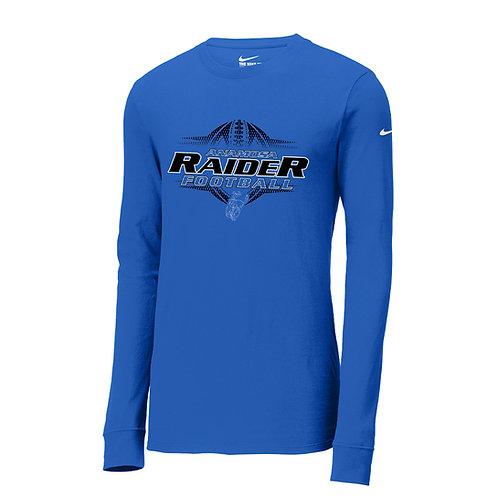 Raider Football Nike Core Cotton Long Sleeve