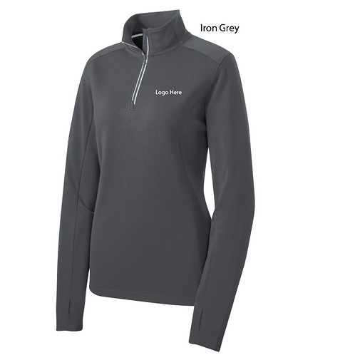 MercyCard Sport-Tek 1/4 Zip Textured Pullover
