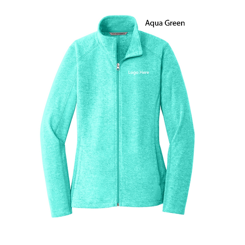 MercyCard Heather Microfleece Full Zip Jacket