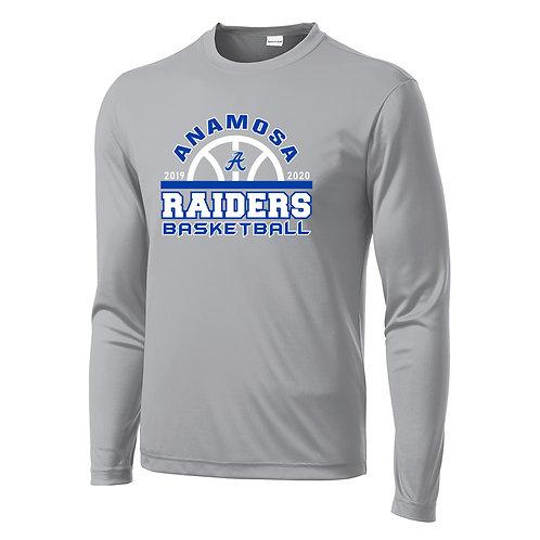 Anamosa Basketball Lg Slv Perf. T-Shirt