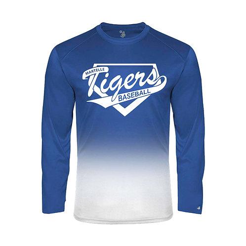 Martelle Badger Ombre Lg Slv T-Shirt