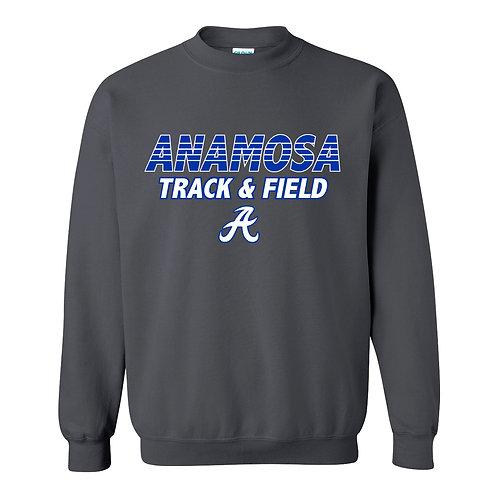Anamosa Girls Track Crew Sweatshirt