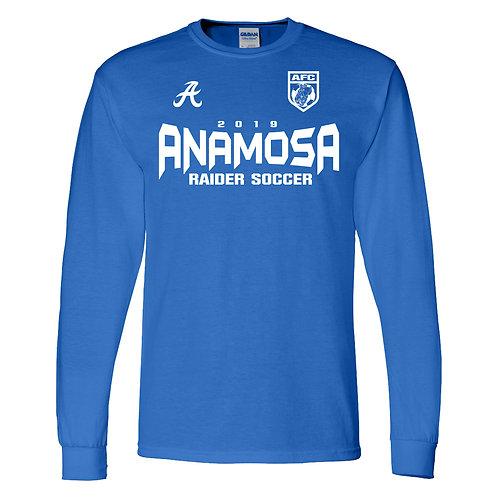 Anamosa Soccer Lg Slv Dry Blend T-Shirt