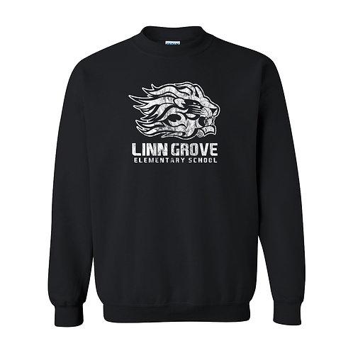 Linn Grove Lion Crew Sweatshirt