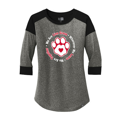 Linn Grove Ladies Baseball Raglan Tee