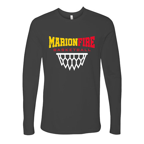 Marion Fire BB Next Level Lg Slv T-Shirt