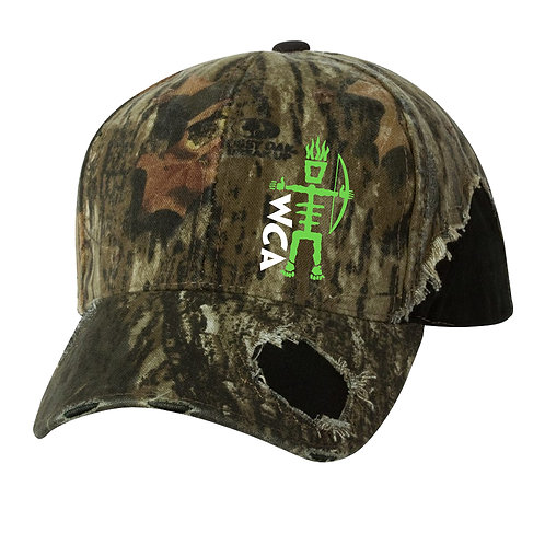 WCA Frayed Camo Hat