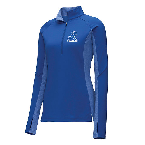 Raider Wrestling Ladies 1/2 Zip Pullover