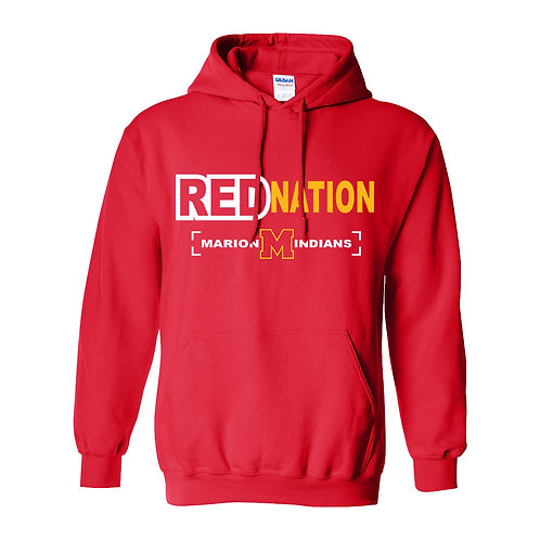 Marion Red Nation Hoodie