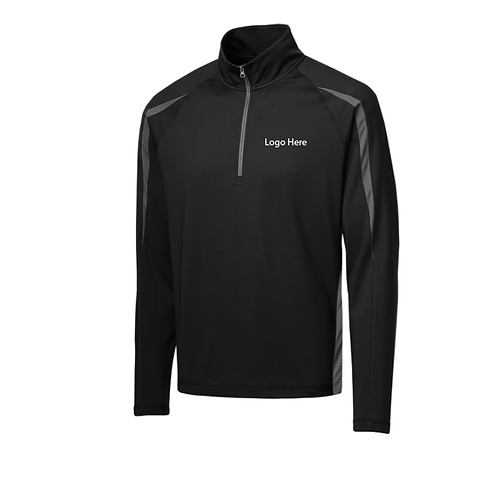 MercyBP Sport-Tek Stretch 1/2 Zip Colorblock Pullover
