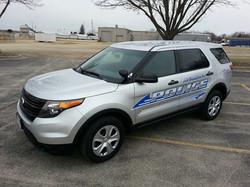 Anamosa Police SUV Graphics