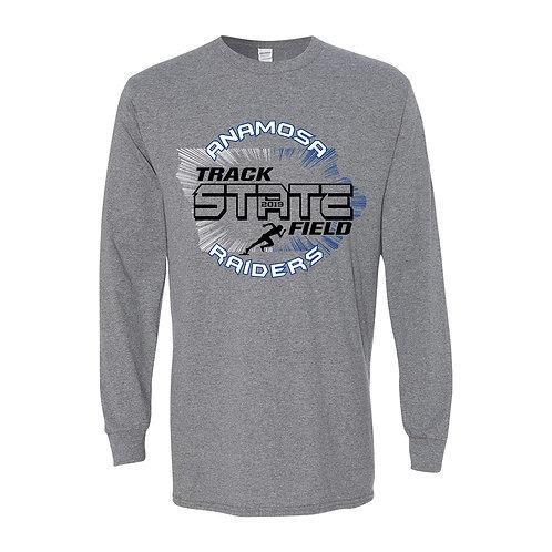 Anamosa State Track Lg Slv T-Shirt