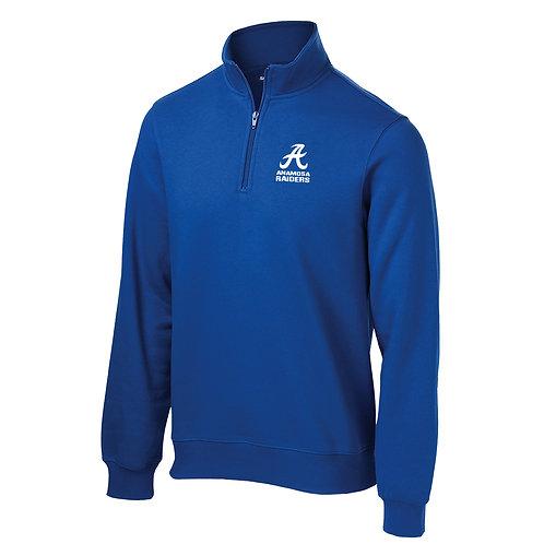 Raiders 1/4 Zip Sweatshirt