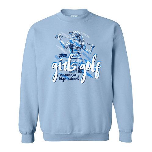 Anamosa Golf Crew Sweatshirt