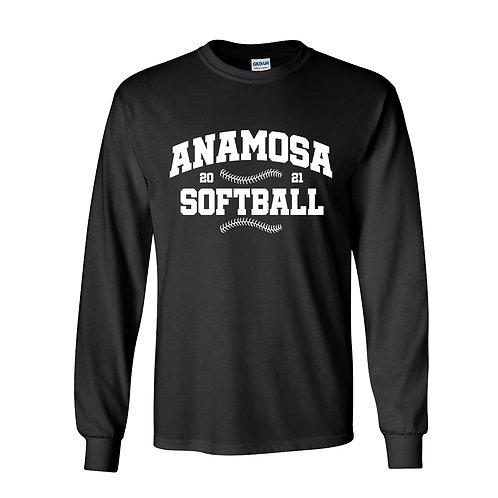 Anamosa Softball Lg Slv T-Shirt