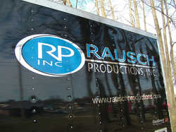 Rausch Productions Trailer Graphics