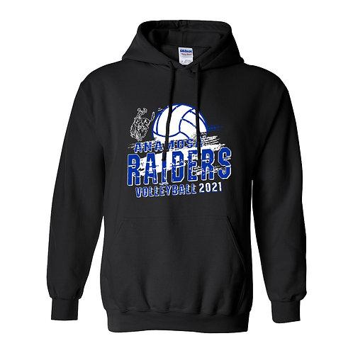 Raider Volleyball Gildan Hoodie