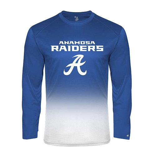 Raider Ombre Lg Slv T-Shirt