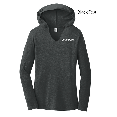 MercyURO Ladies Lg Slv Hooded Tee