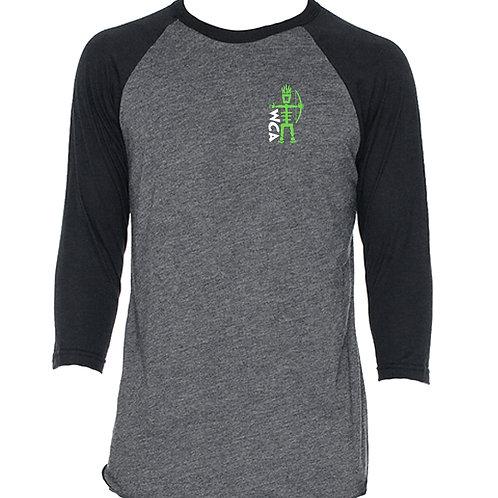 WCA 3/4 Sleeve Raglan T-Shirt