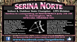 Target:Serina Athlete Banner