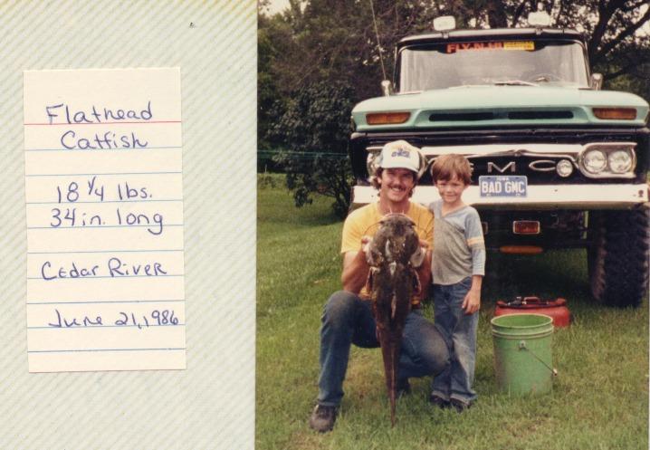 Scot & John 1986 • Catfish • Cedar
