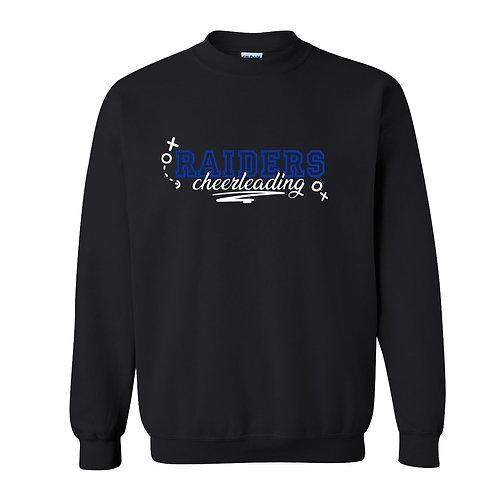 Raider Cheerleading Gildan Crew Sweatshirt