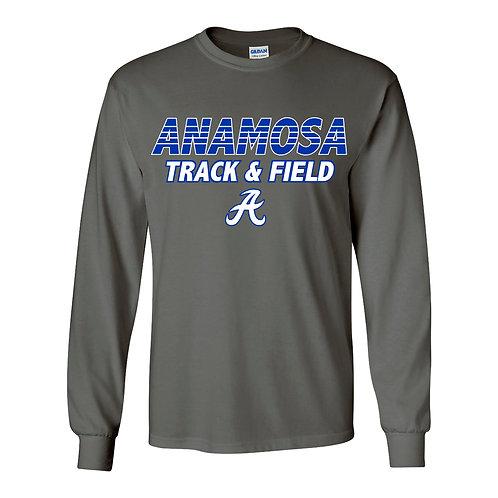 Anamosa Girls Track Lg Slv T-Shirt