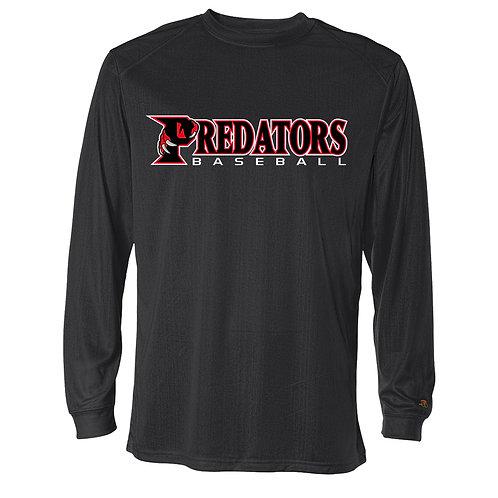 Predators Perf. Lg Slv T-Shirt